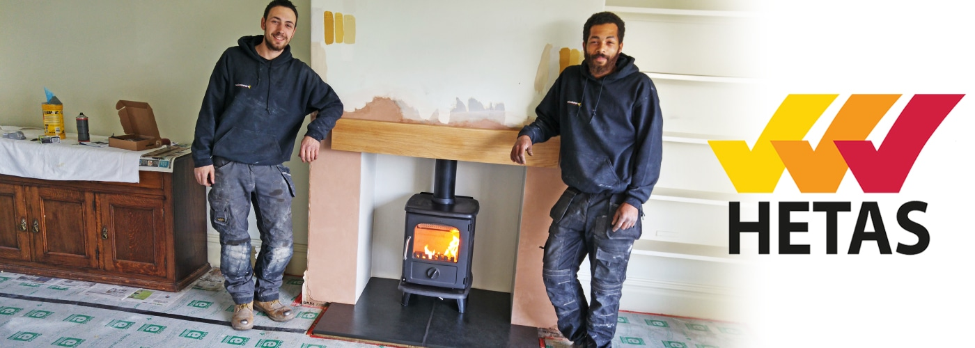 log burners installation