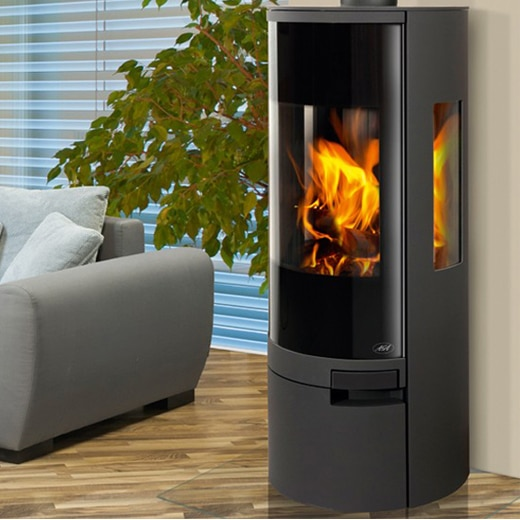 Aga Dorrington Wood Burning Stove Uk Contemporary Aga Log Burner
