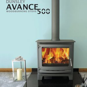 dunsley avance 500 log burning stove