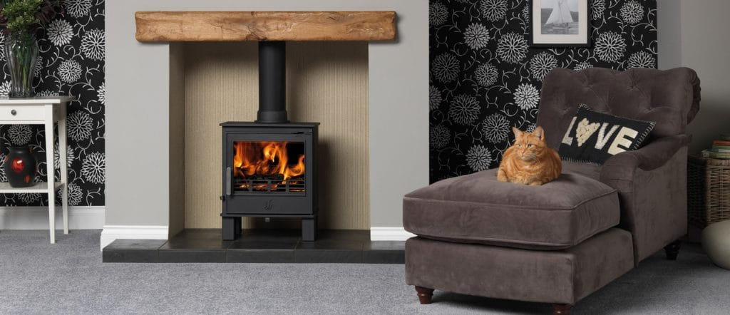 how much does wood burning stove installation cost