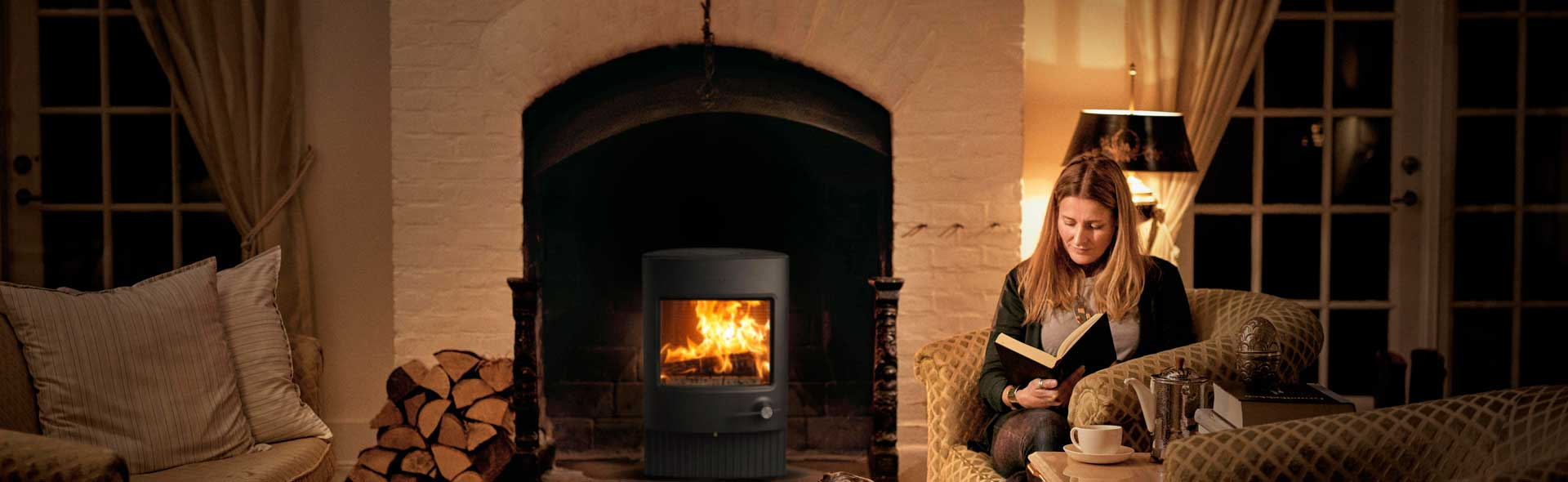 cost of wood burning stove installation