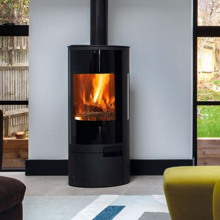 wood burning stove installation barnsley